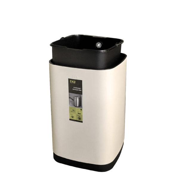 Сенсорное мусорное ведро EKO серии ECOSMART модель EK9288 35 литров Расположение внутреннего контейнераnbsp- EKOBIN