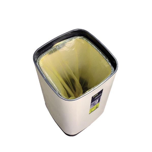 Сенсорное мусорное ведро EKO серии ECOSMART 3550 литров Со снятой крышкойnbsp- EKOBIN
