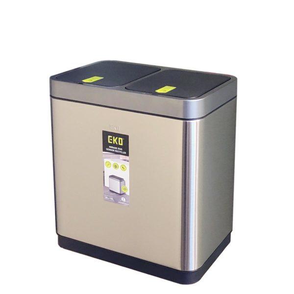 Сенсорное мусорное ведро EKO EK9263RMT-10+10L