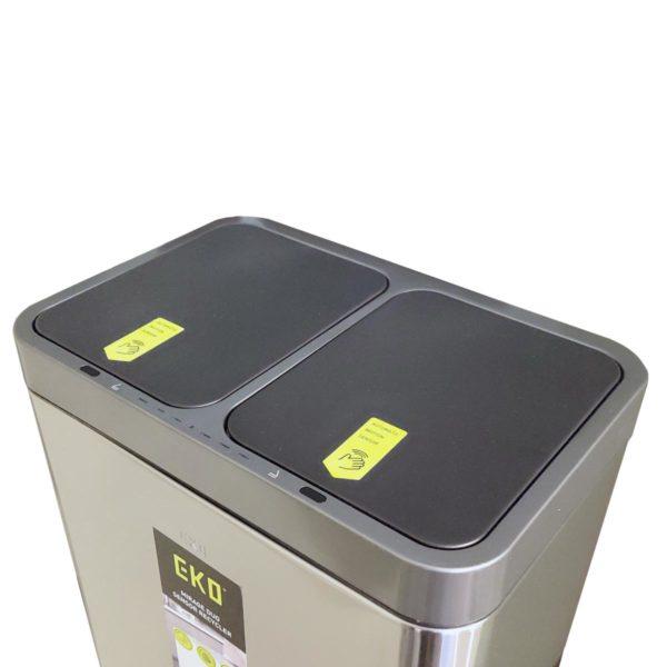 Сенсорное мусорное ведро EKO EK9263RMT-15+15L