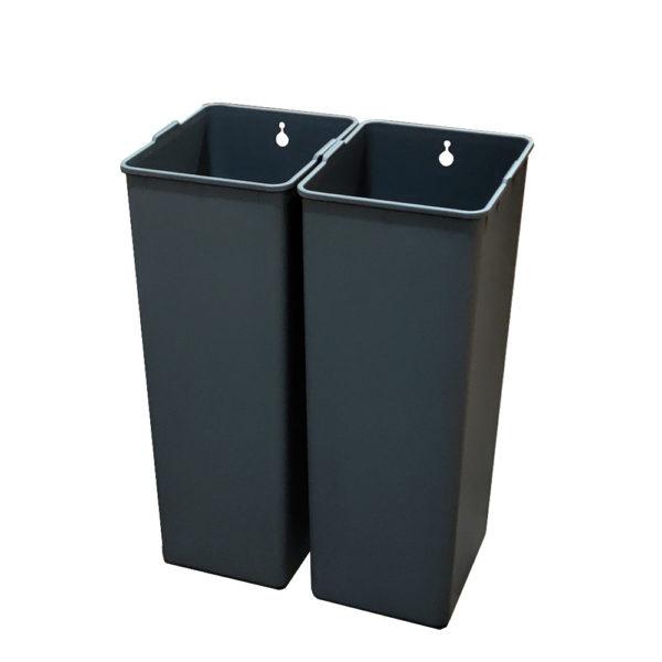 Модульное сенсорное мусорное ведро EKO EK927030+30L на 60 литров Внутренние полипропиленовые контейнерыnbsp- EKOBIN