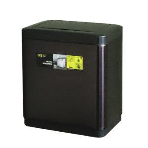 Сенсорное мусорное ведро EKO серия BRAVIA EK9233P-20L-MBS, благородная нержавеющая сталь, цвет черный сатин.