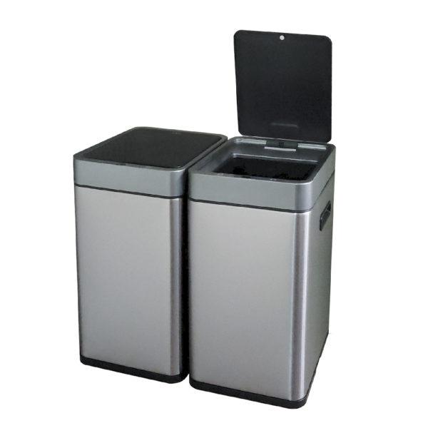 Сенсорное модульное мусорное ведро EKO серии MIRAGE SLIM модель EK9270MT20L+20Lnbsp- EKOBIN