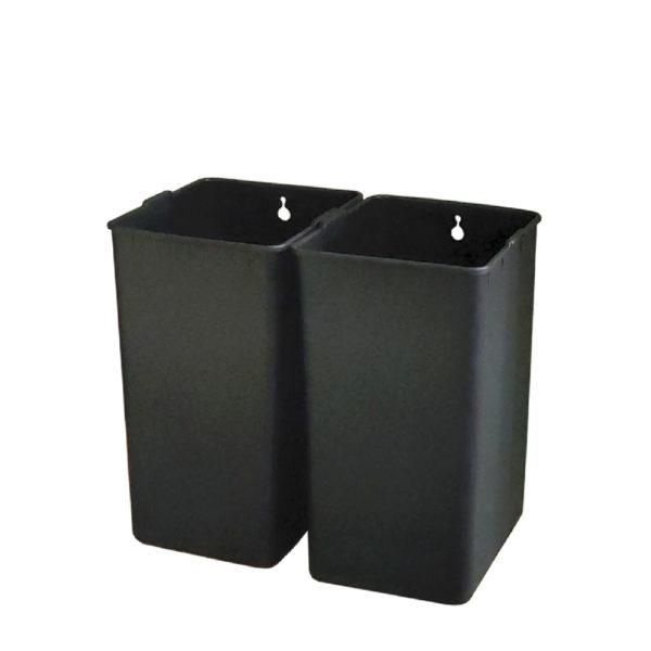 Сенсорное модульное мусорное ведро EKO серии MIRAGE SLIM модель EK9270MT20L+20L внутренние контейнерыnbsp- EKOBIN