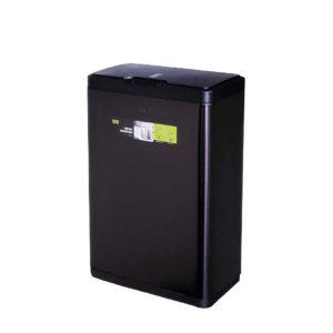Сенсорное мусорное ведро EKO серия MIRAGE EK9278P-50L-MBS, благородная нержавеющая сталь, цвет черный сатин.