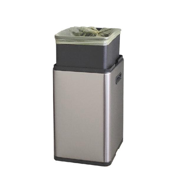 Сенсорное модульное мусорное ведро EKO серии MIRAGE SLIM модель EK9270MT 20Lnbsp- EKOBIN